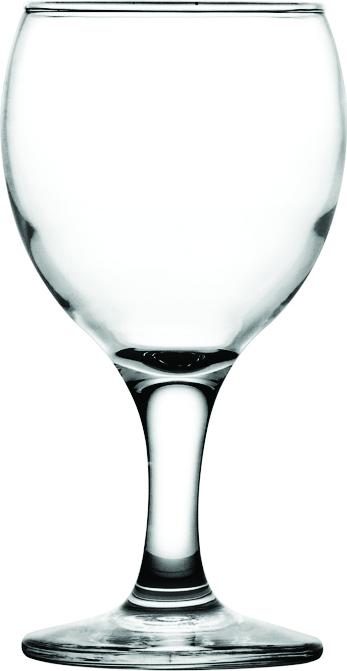Бокал для вина 175 мл. d=68, h=134 мм бел. Бистро Б /396049/ /12